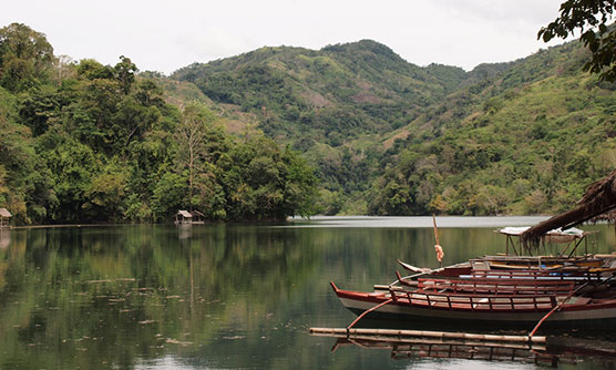 Balanan Lake in Dauin